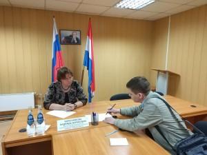 Прием граждан в Куйбышевском районе Самары