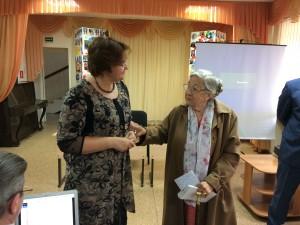 Встреча с ветаранами Куйбышевского района г. Самары